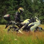 На мотоцикле в Архыз. Видео о мотопутешествии по Северному Кавказу.