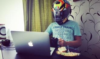 мототоксикоз, байкер в шлеме, матвей огулов