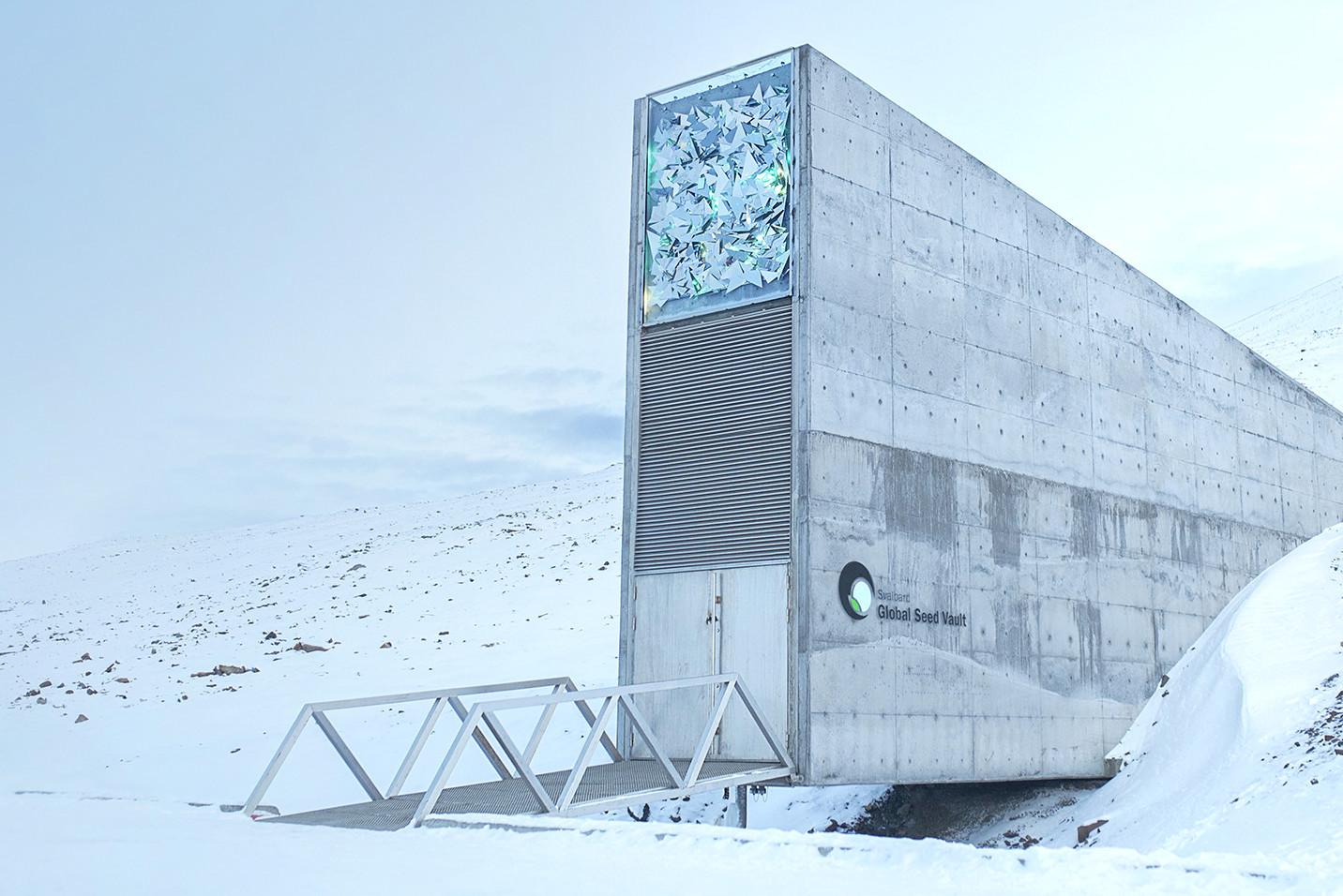Хранилище судного дня на Шпицбергене, Бункер на Шпицберген, бункер семян в Норвегии, бункер с семенами в Арктике, хранилище мирового наследия в Арктике