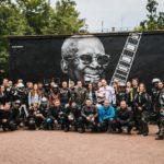 Граффити «Hood Graff Team». Арт-прохват от «Norman's Riders»