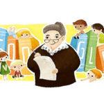 Писательница Софья Могилевская стала героем дудла от Google
