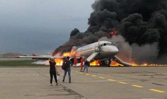 Авиакатастрофа в Шереметьево: видео