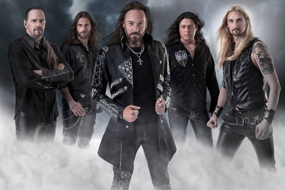 Группа Hammerfall фото, Hammerfall 2019 видео, Hammerfall концерт, рок-группы Швеции, шведские рок-группы, шведский метал