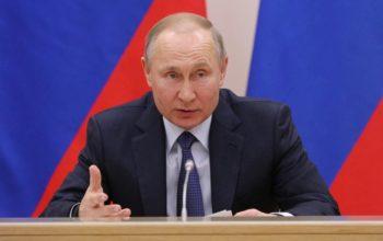 Владимир Путин выступит с обращением по поводу коронавируса